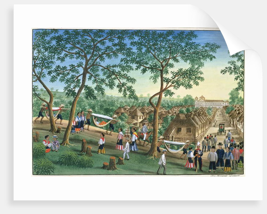 Outing to the Antipolo Fiesta by Jose Honorato Lozano