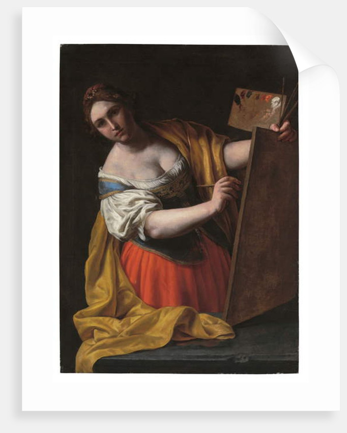 Allegory of painting by Alessandro Turchi