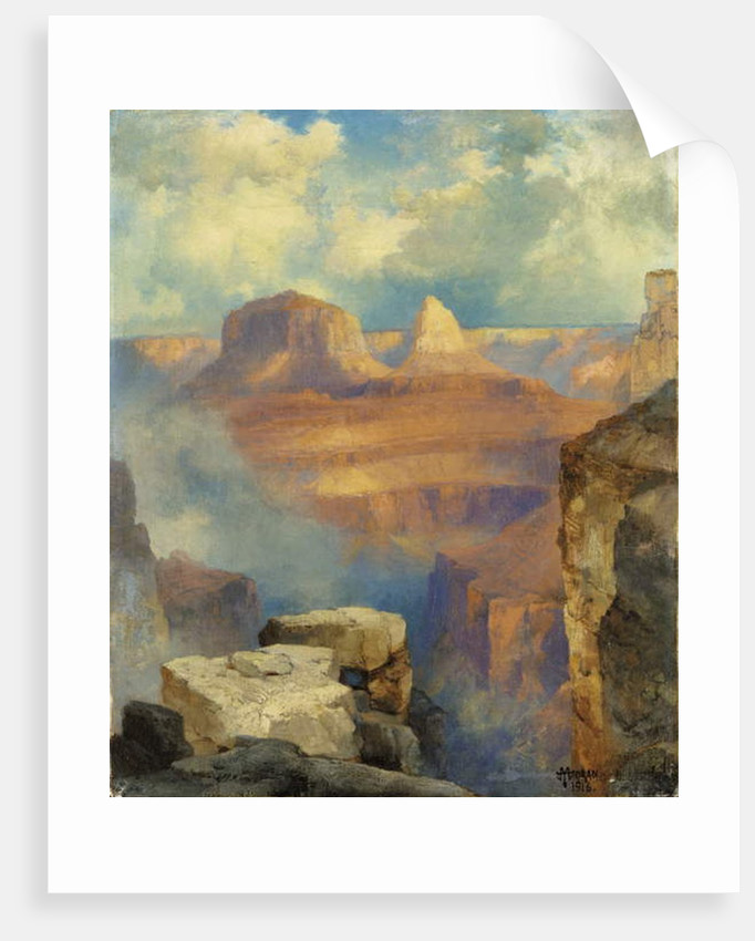 Grand Canyon, 1916 by Thomas Moran