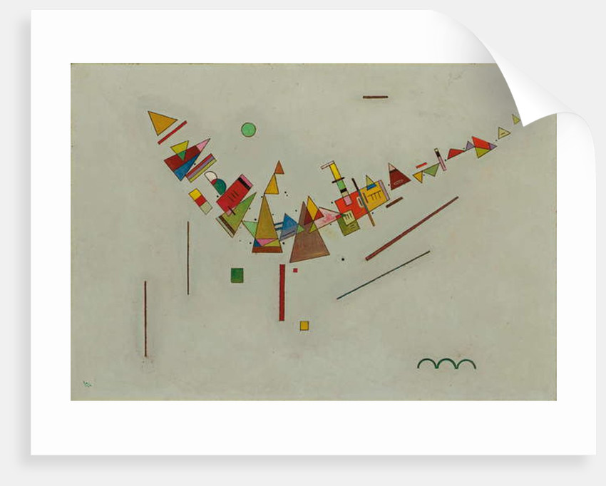 Angular Swing by Wassily Kandinsky