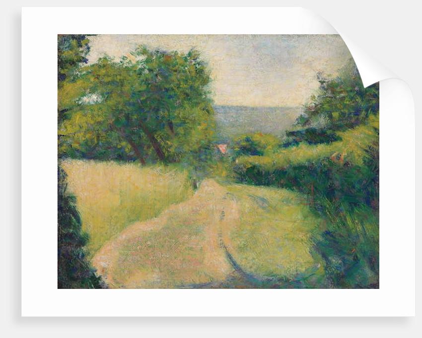 The Sunken Lane by Georges Pierre Seurat