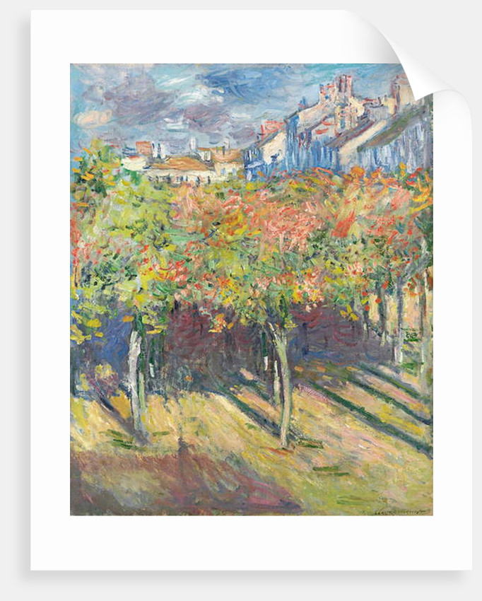 The Lime Trees at Poissy by Claude Monet