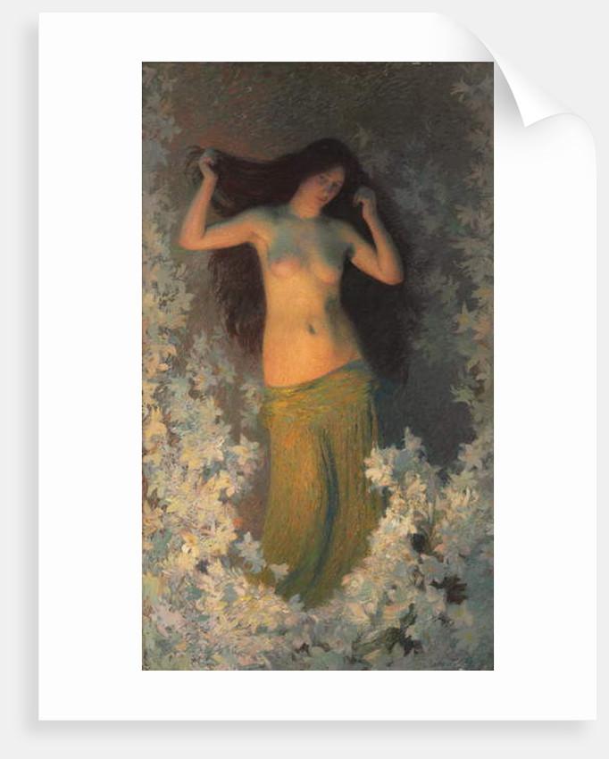 The Beauty by Henri Martin