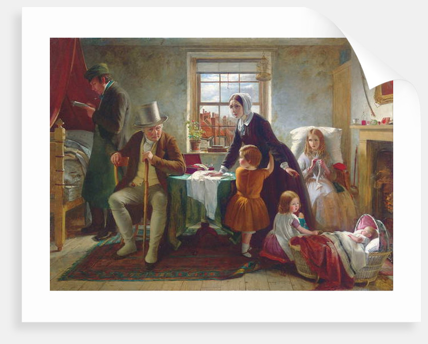 The Silence of Pure Innocence Persuades, where Speaking Fails, 1855 by Thomas Brooks