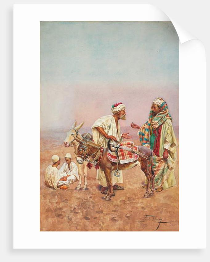 One Dirham for a Ride through the Desert by Giulio Rosati
