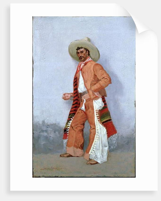 A Vaquero by Frederic Remington