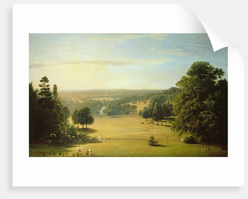 View from Lord Northwick's Villa at Harrow on the Hill by John Glover