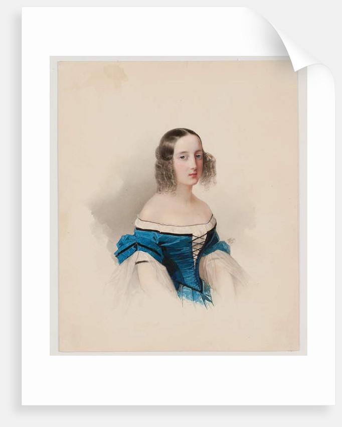 Portrait of Grand Duchess Maria Nikolaievna, 1838 by Vladimir Ivanovich Hau