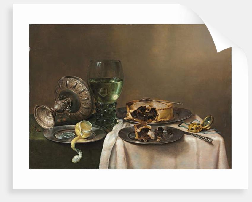 Pronk still life by Willem Claesz. Heda