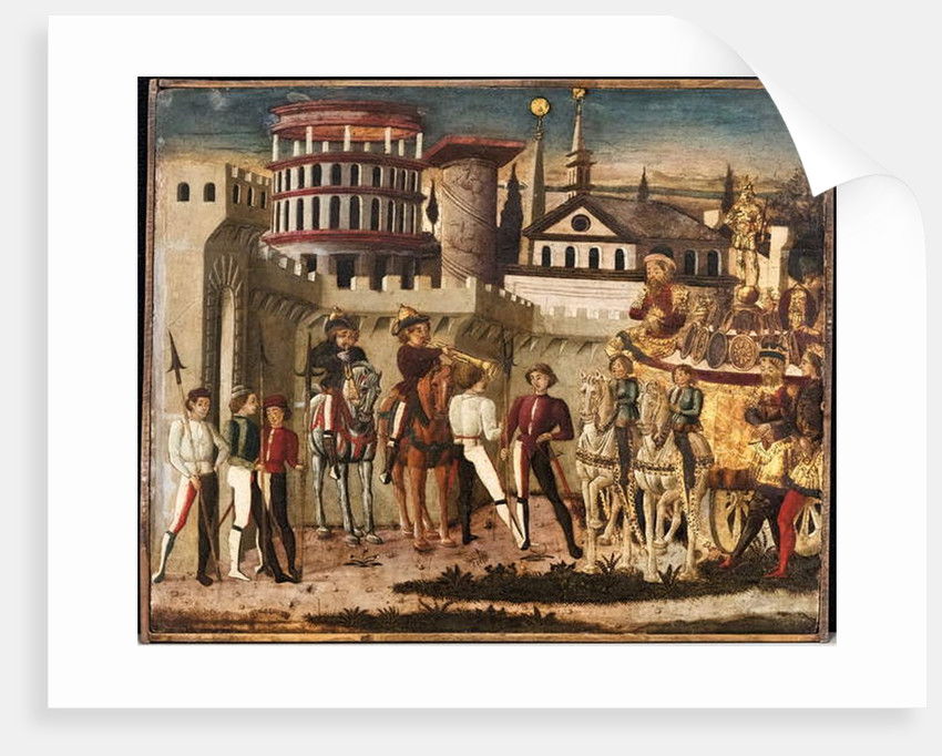 Scene of an ancient triumph by Giovanni di Ser Giovanni Scheggia