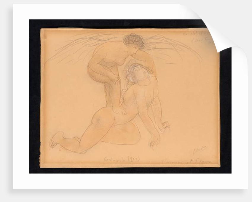 L'Amour et Psyché, c.1900 by Auguste Rodin