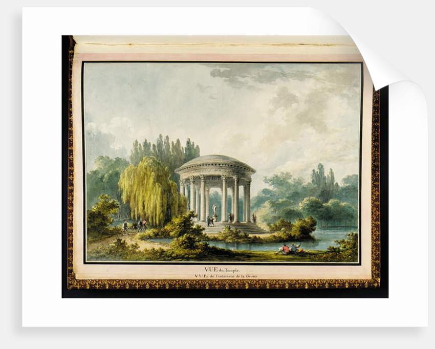 Vue du Temple by Claude Louis Chatelet
