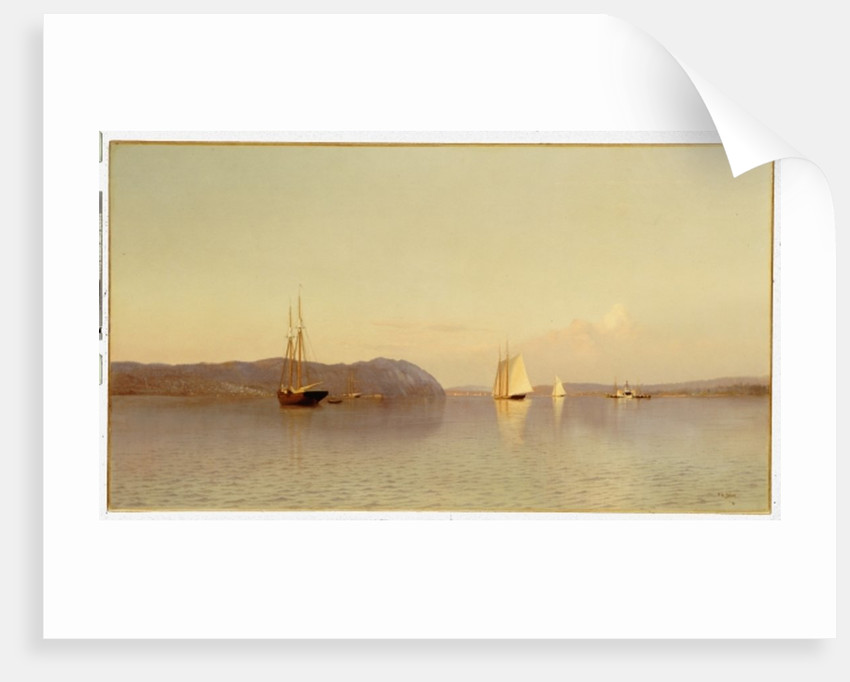 Late Afternoon, Haverstraw Bay by Francis Augustus Silva