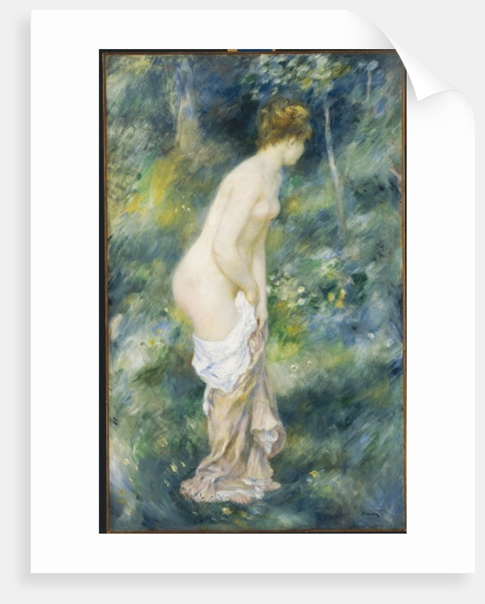 Standing Bather, 1887 by Pierre Auguste Renoir