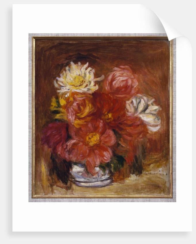 Dahlia, c.1890 by Pierre Auguste Renoir