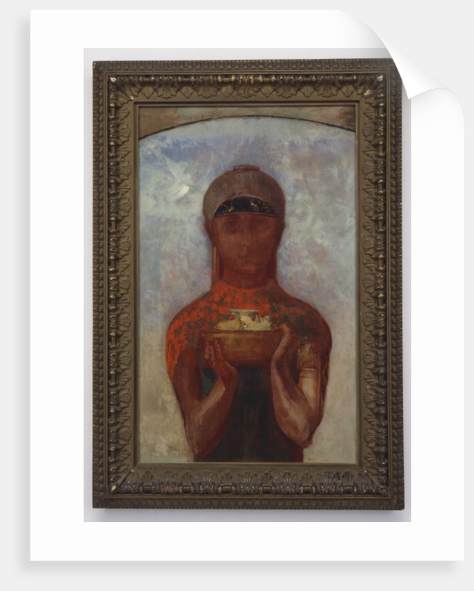 The Cup of Mystery, or Sibyl, c.1890 by Odilon Redon