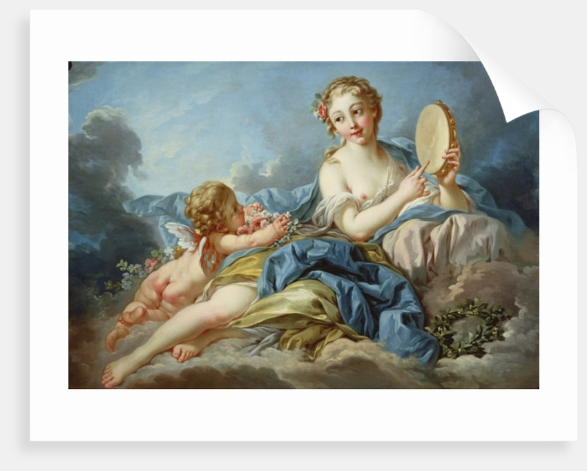 The Muse Terpsichore by Francois Boucher