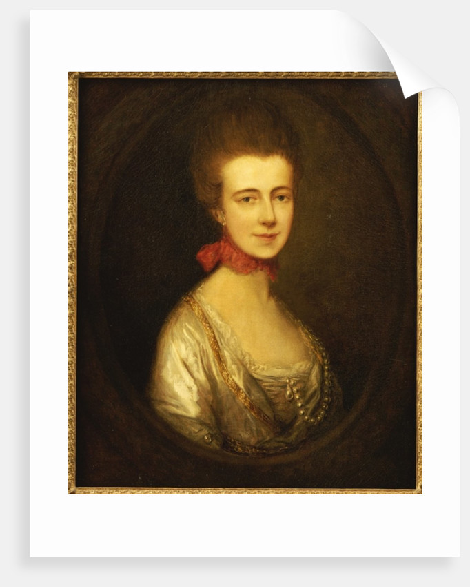 Portrait of Miss Boone by Thomas Gainsborough