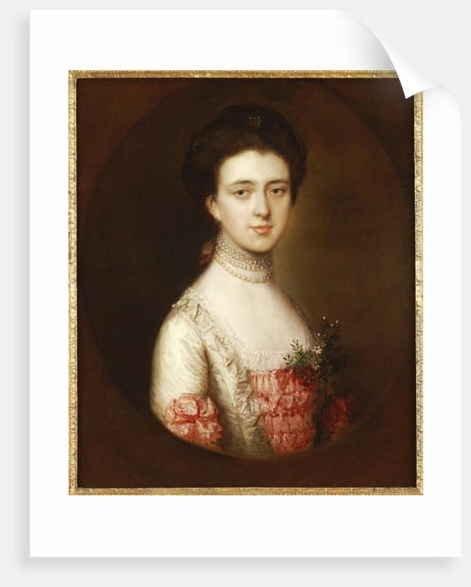 Portrait of a lady by Thomas Gainsborough