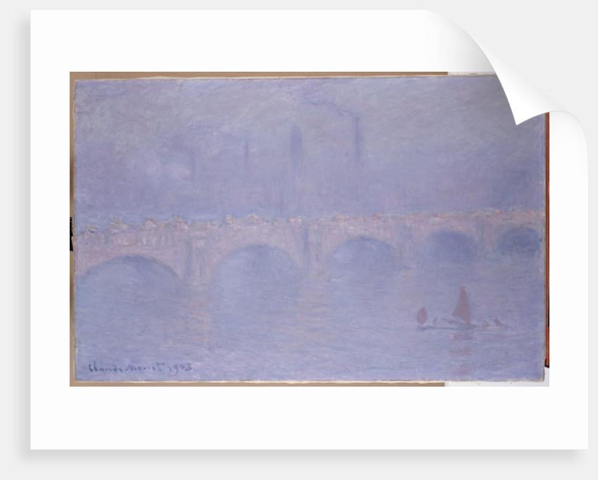 Waterloo Bridge, Hazy Sunshine by Claude Monet