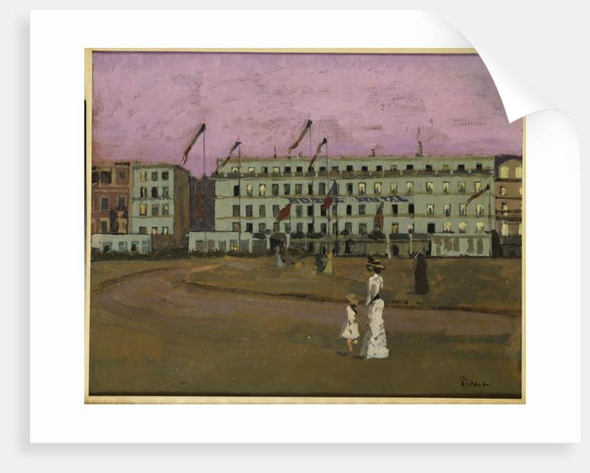L'Hotel Royal, Dieppe, c.1894 by Walter Richard Sickert