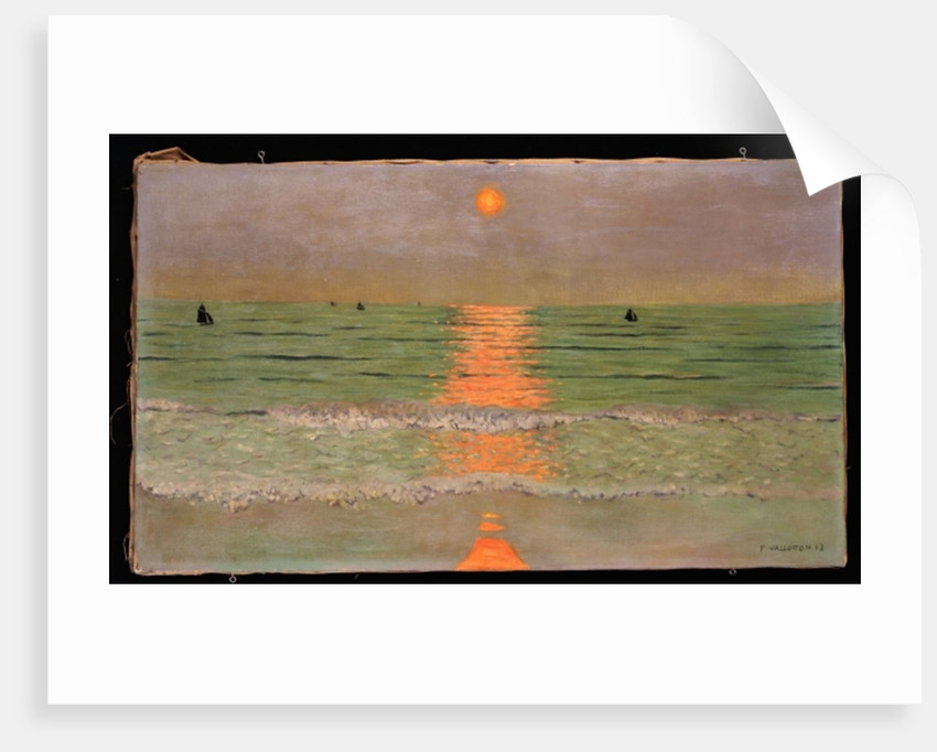 Sunset, 1913 by Felix Edouard Vallotton