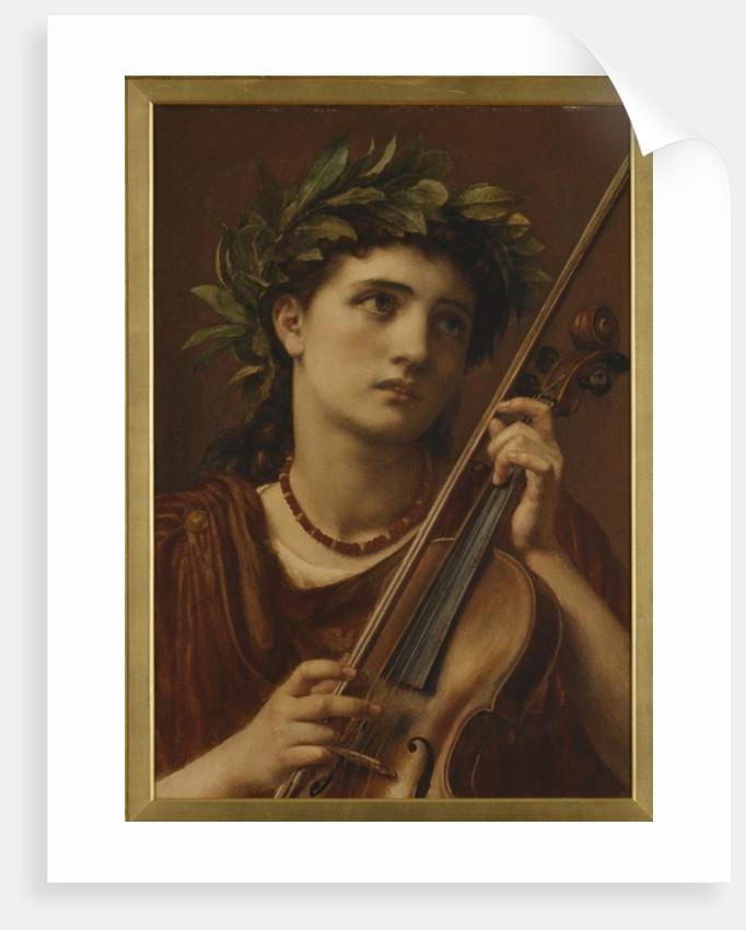 Music, Heavenly Maid, 1889 by Edward John Poynter