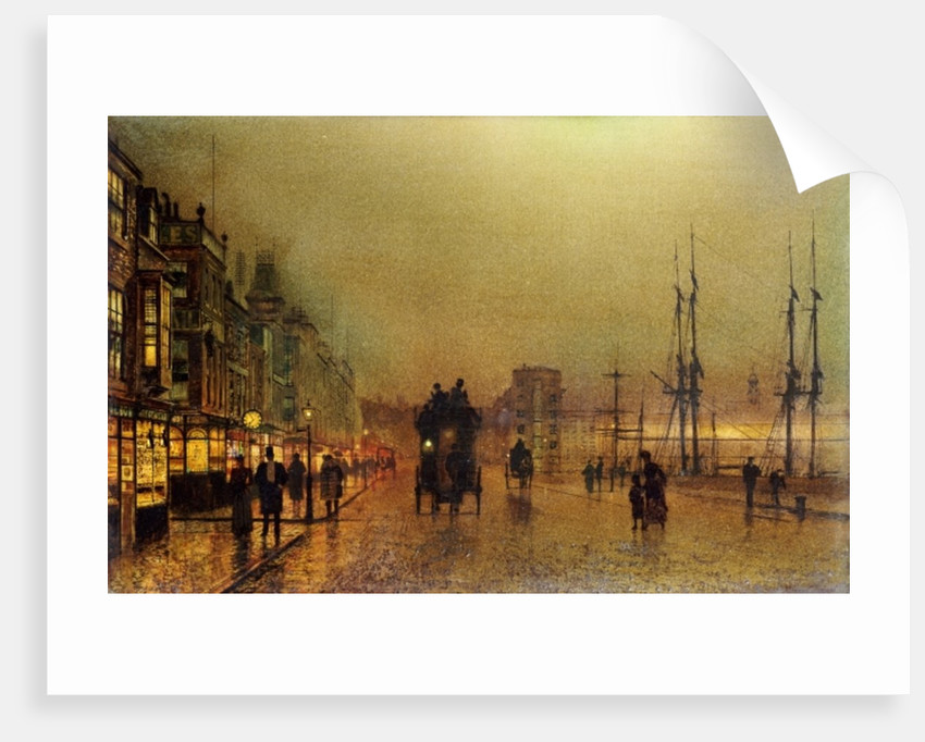 Glasgow by John Atkinson Grimshaw