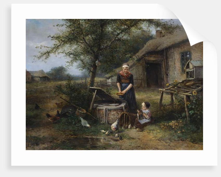 Farmyard Happiness by Jan Mari Henri Ten Kate