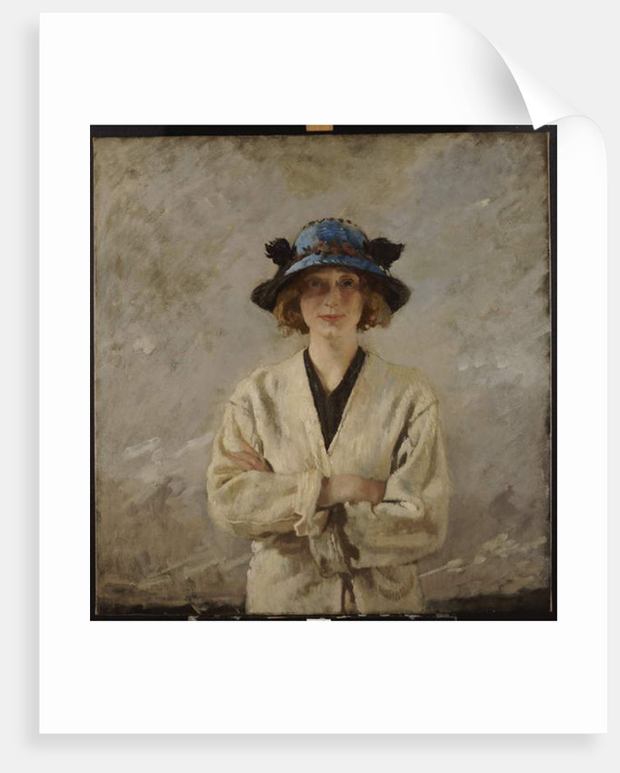 Girl in a Blue Hat, 1912 by William Orpen
