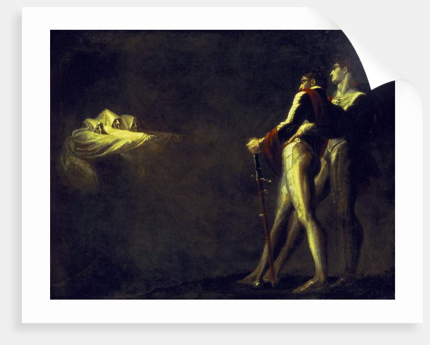 The Three Witches appearing to Macbeth and Banquo, 1800-1810 by Henry Fuseli