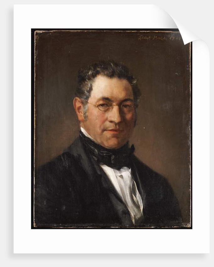 Siegfried Dehn, 1854 by Adolph Friedrich Erdmann von Menzel