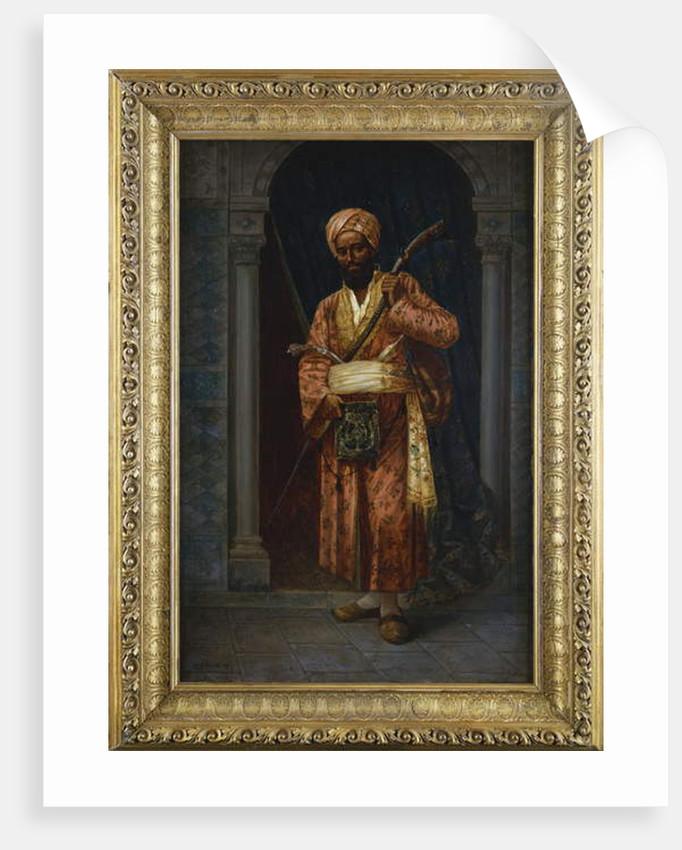 The Arab Guard by Ludwig Deutsch