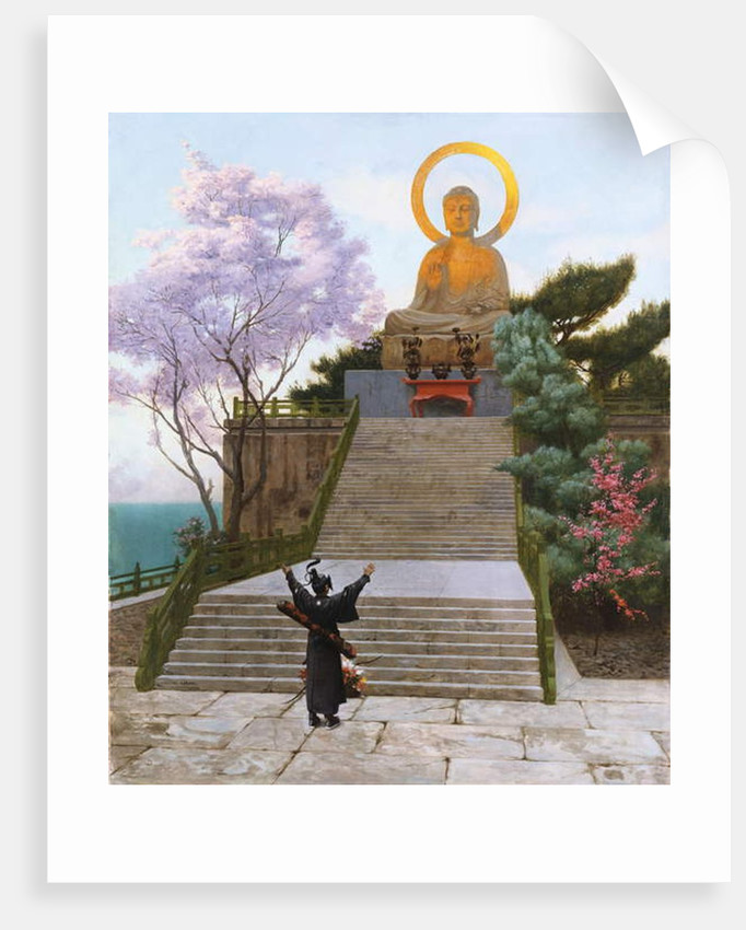 Japanese imploring a Divinity by Jean Leon Gerome