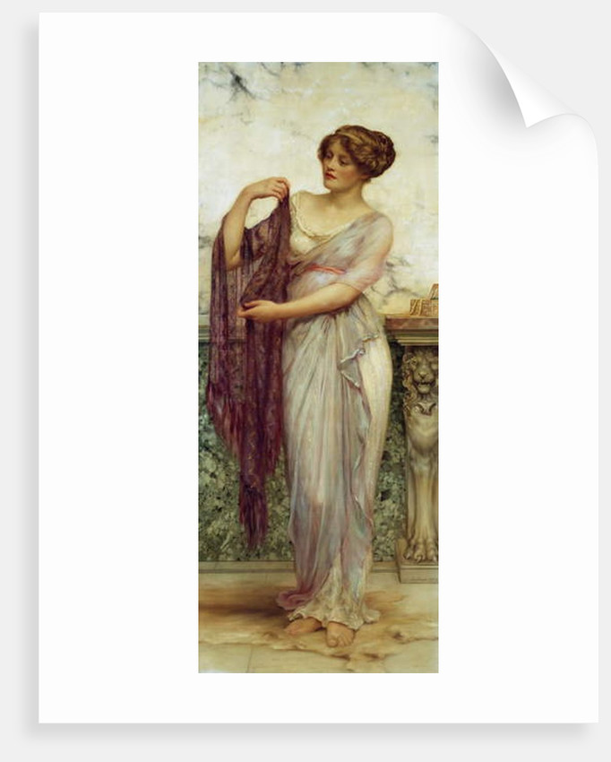 The Purple Scarf, 1913 by William Clark Wontner