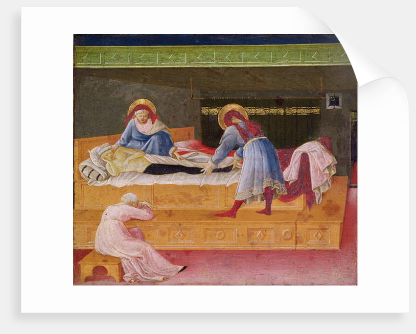 Saints Cosmas and Damian Healing Justin, 1445 by Fra & Strozzi Zanobi di Benedetto Angelico