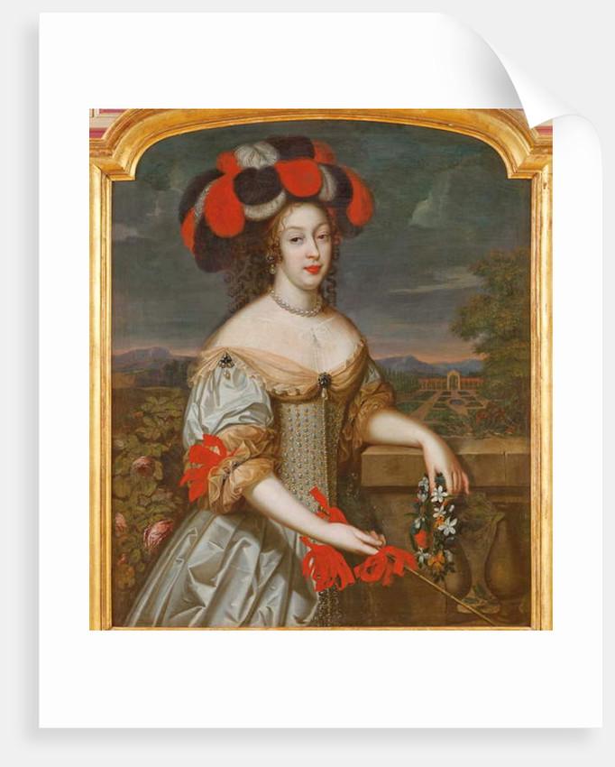 Portrait of Anne Marie Louise d'Orléans, called La Grande Mademoiselle by Louis Ferdinand Elle
