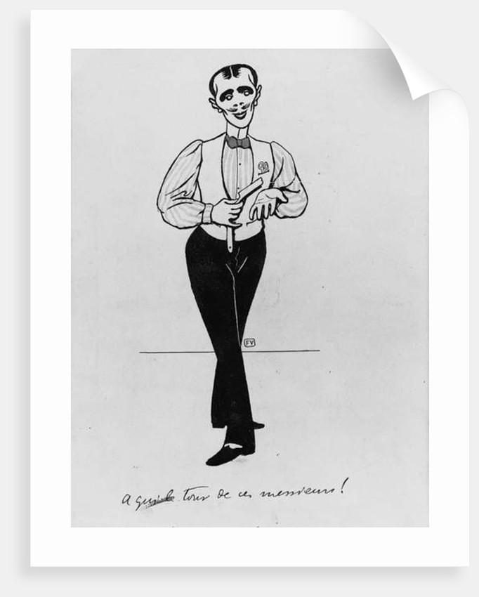 A Qui Le Tour Des Ces Messieurs!, 1898 by Felix Edouard Vallotton