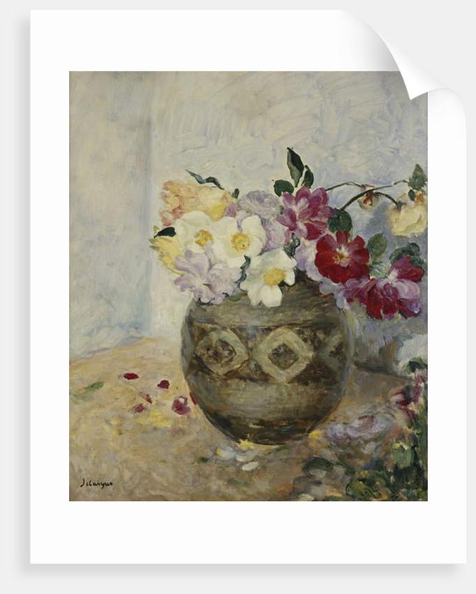 Vase of Flowers by Henri Lebasque