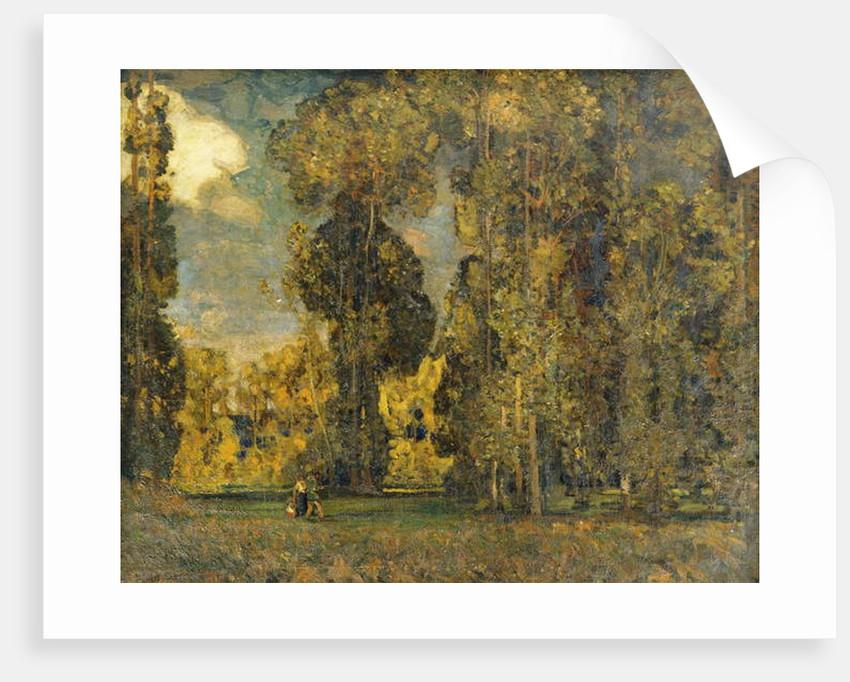 September Landscape by Alfred East