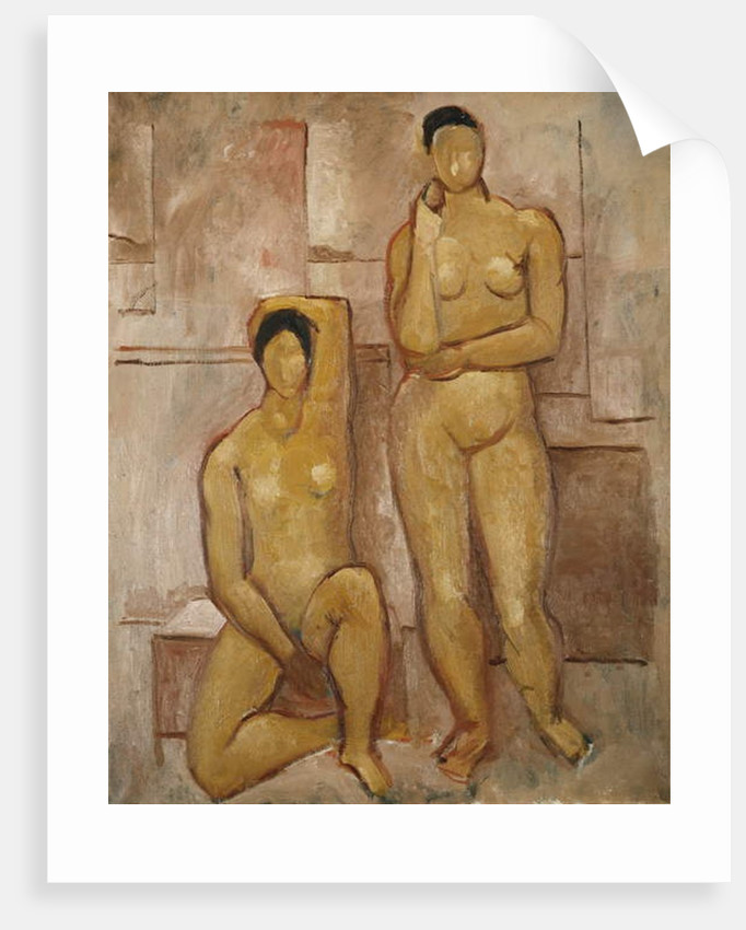 Seated and Standing Nudes, 1972 by Christopher Wood