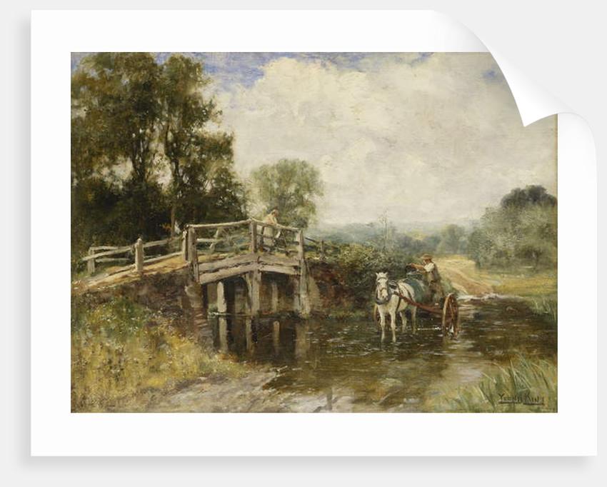 At the Crossing by Henry John Yeend King