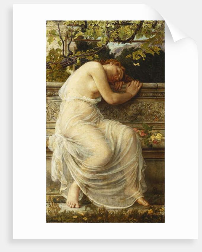 The Sleeping Girl by Edith Ridley Corbet