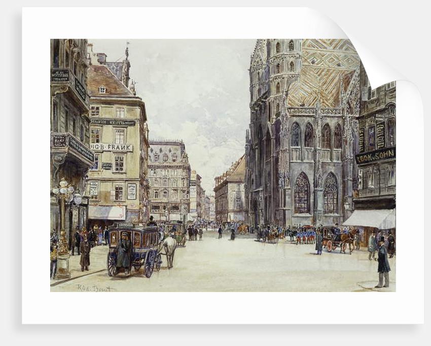 Stefanplatz, Vienna by Rudolf Bernt