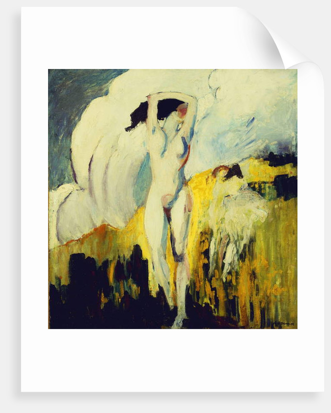 Nude in the Fields by Alfred Henry Maurer