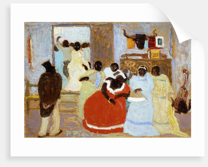 The Brothers; El Hermano by Pedro Figari