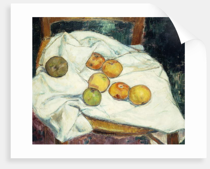 Still-life with Apples by Armand Seguin
