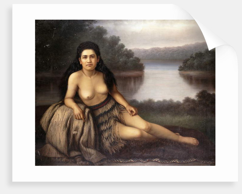 Hinemoa, 1899 by Gottfried Lindauer