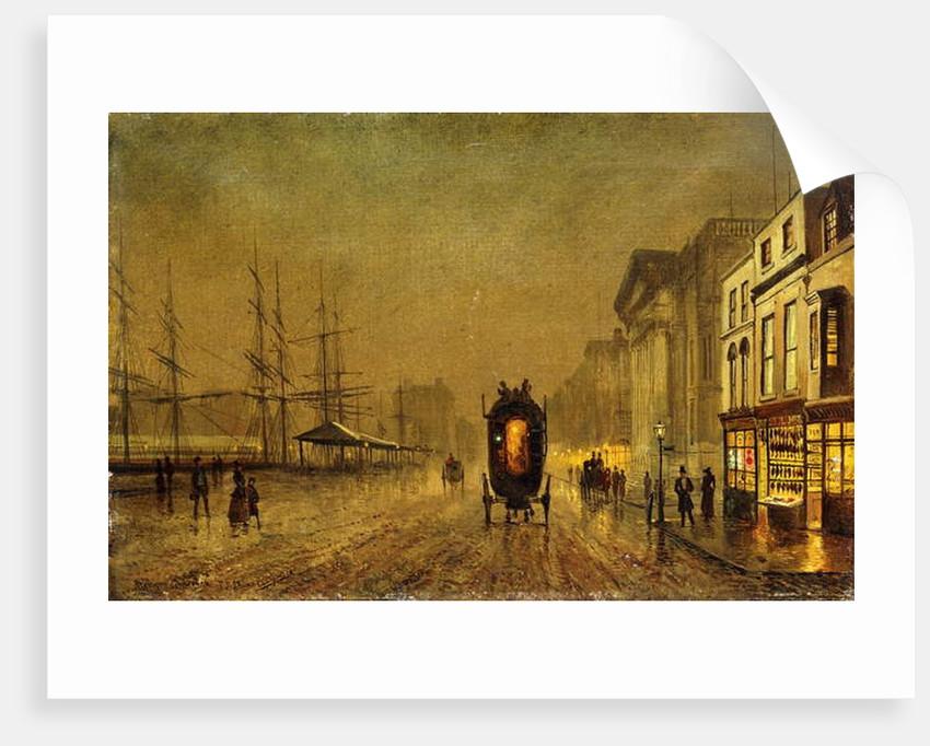 Liverpool Docks by John Atkinson Grimshaw