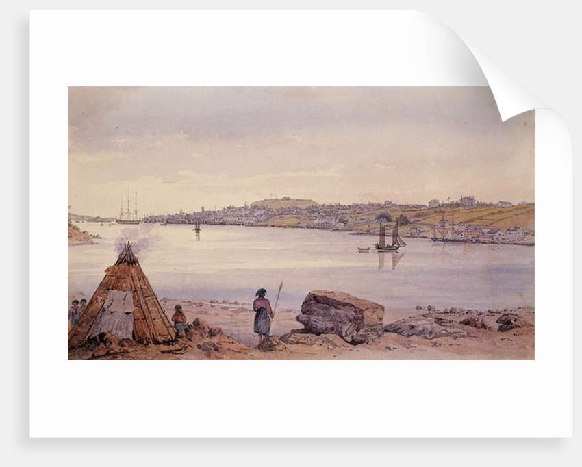 View in Nova Scotia by Captain Seymour